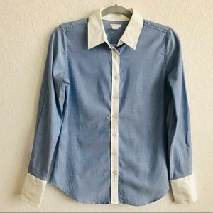 Club Monaco Penelope Oxford Shirt - sz S